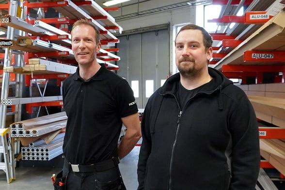 Henrik Rönn ja Niclas Hellgren